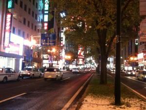 北海道は雪が嫌い?