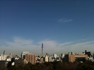 Tokyo Skytree 2011-01-09