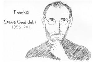 Thanks, Steve Good Jobs