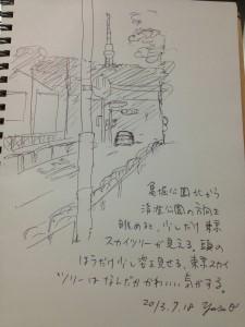 Sketch by ballpen (2013-07-18)