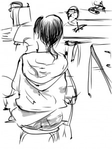 Tokyo Sketch 2013-10-22