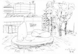 Tokyo Sketch 2013-10-23(2)