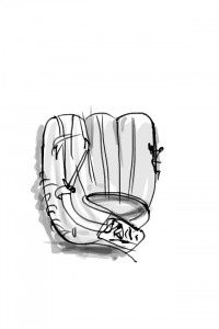 iPhone 6 Plusでファルコンのグラブを描く