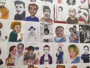 ミシェル・ゴンドリーの似顔絵プロジェクト
