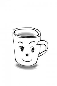 コーヒーカップを見ていたら