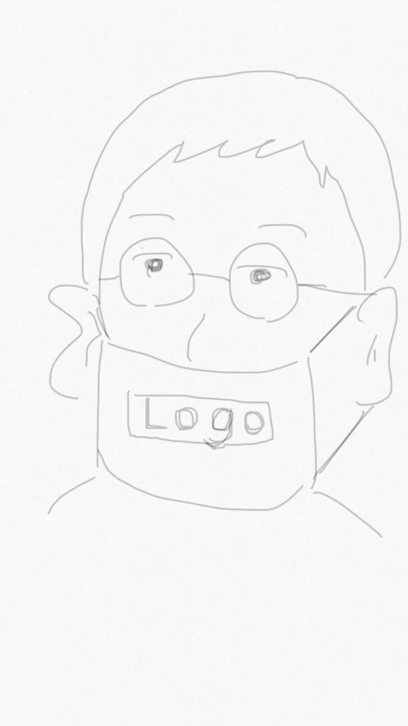 求む!ロゴ入りマスク無料配布